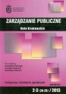Zarządzanie publiczne 2/3 2013 Koło Krakowskie