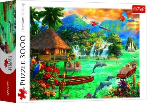 Puzzle 3000 Życie na wyspie