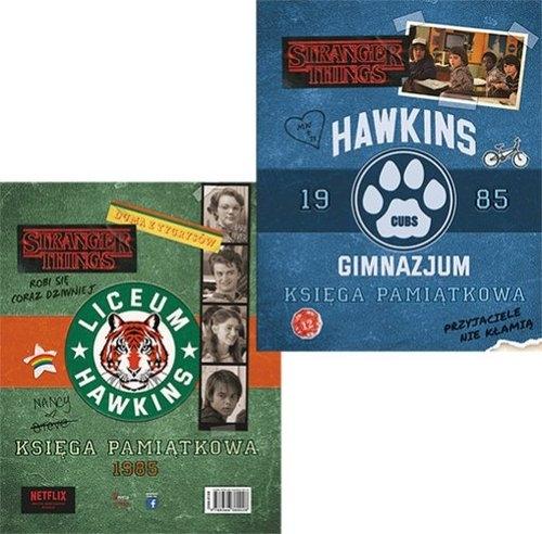 Księga pamiątkowa Gimnazjum / Liceum Hawkins 1985 Gilbert Matthew J.