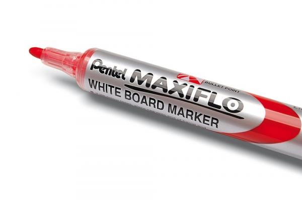 Marker suchościeralny MWL5S cienki czerwony