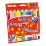 Kredki ołówkowe Magic, 24 kolory