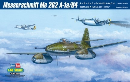 HOBBY BOSS Messerschmitt Me 262 A-1a/U4