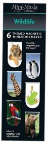 Zakładki magnetyczne Wildlife 6 sztuk
