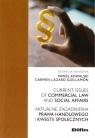 Aktualne zagadnienia prawa handlowego i kwestii społecznych Paweł Kowalski Carmen Lazaro Guillamón