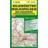 Województwo Wielkopolskie Mapa samochodowa