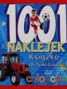 1001 naklejek Książka aktywizująca dla chłopców