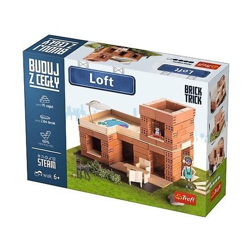 Puzzle 3D Buduj z cegły Loft M (60872)