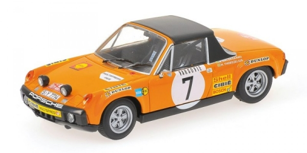 MINICHAMPS Porsche 914/6 #7 Waldegaard