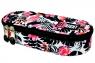 Piórnik szkolny saszetka Stright Flamingo pink&black PC-01