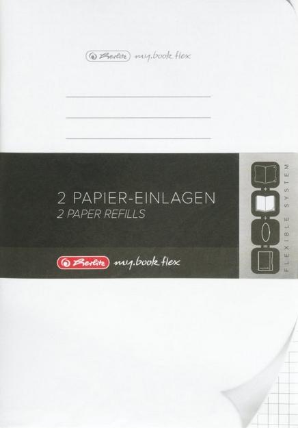 Wkład do notatnika PP my.book Flex A5/2x40 kartek w kratkę (11361888)