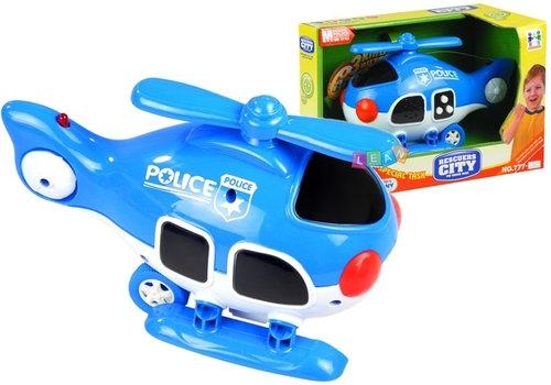 Helikopter policyjny z dźwiękiem