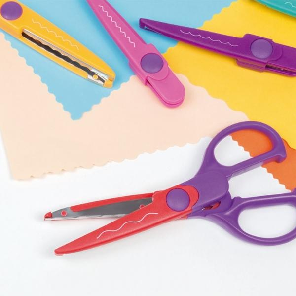 Nożyczki Milan do wycinania wzorów z 8 ostrzami (14930908)
