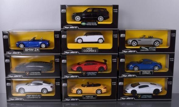 Pojazdy - Modele kolekcjonerskie skala 1:43