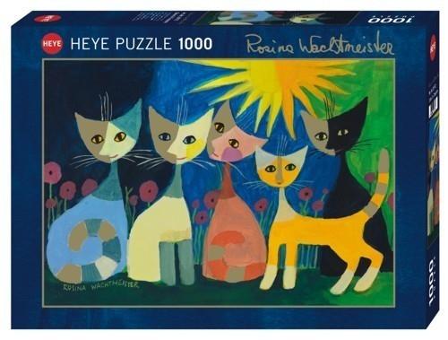 1000 ELEMENTÓW Kolorowe koty (29772)