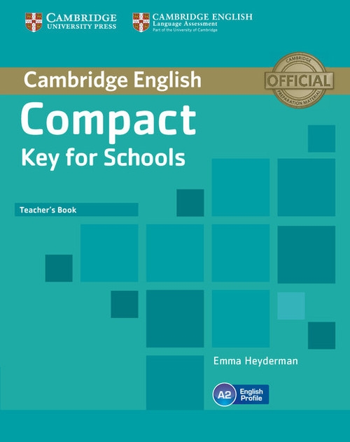 Compact Key for Schools Teacher's Book Heyderman Emma