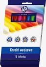 Kredki woskowe 18 kolorów