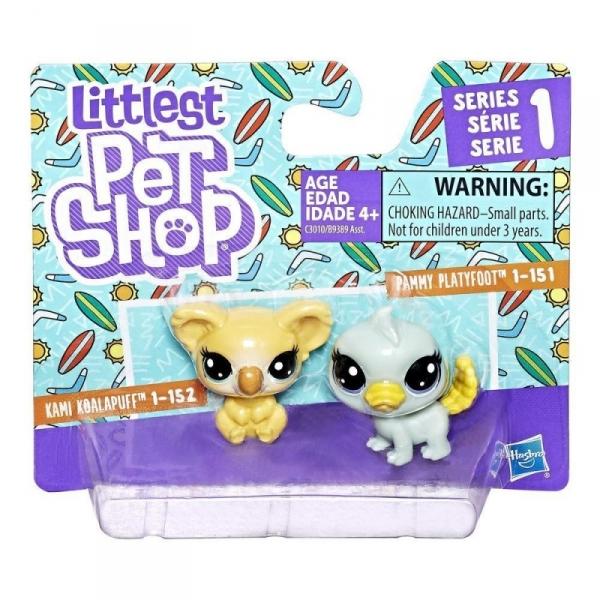 Littlest Pet Shop Dwupak, Platypus and Koala (B9389/C3010)