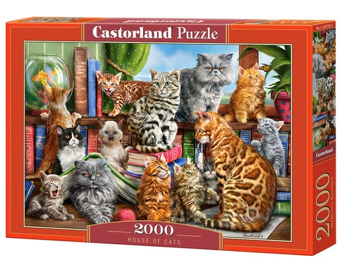 Puzzle 2000 House of Cats