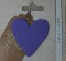 Karteczki samoprzylepne serca fioletowe With Love