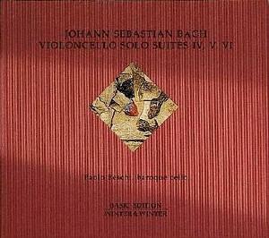Bach, J.S.: Cello Solo Suites IV, V, VI
