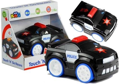 Auto Plastikowe Policja Naciśnij i Jedź