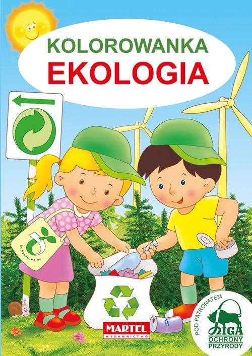 Kolorowanka ekologia Żukowski Jarosław