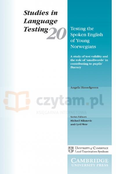 SILT 20 Testing the Spoken English of Young Norwegians PB