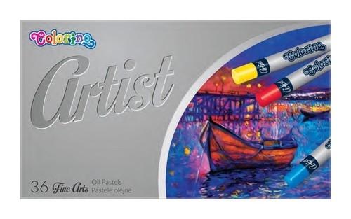 Pastele olejne Colorino Artist 36 kolorów