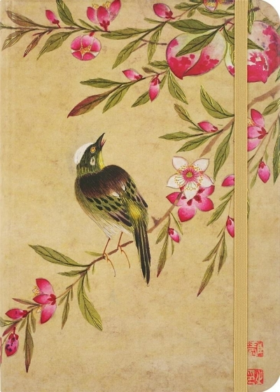 Notatnik mini Kwiaty Brzoskwini