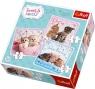 Puzzle 3w1: Słodkie kotki (34809)