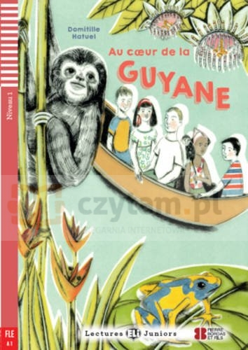 LF Au coeur de la Guyane książka + CD A1