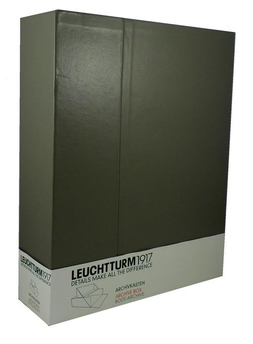 Pudełko na dokumenty A4 Leuchtturm1917 taupe