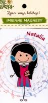 Imienne magnesy Natalia