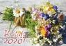 Kalendarz Kwiaty 2020 Praca zbiorowa
