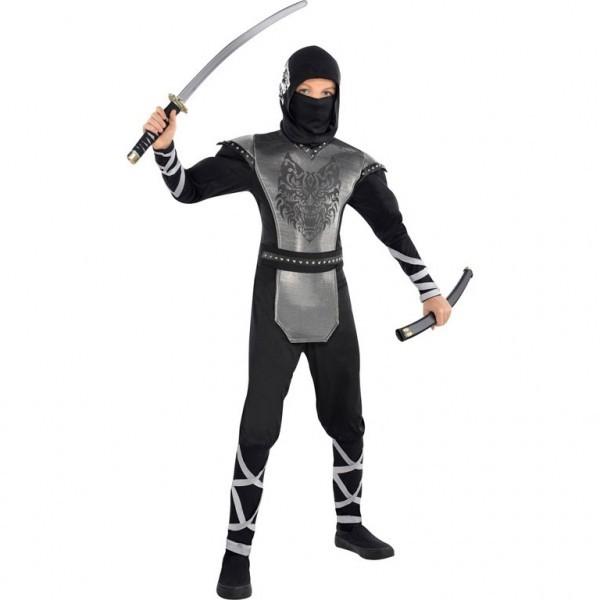 Kostium 8 - 10 lat Wilk Ninja (999472)