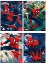 Wkłady do segregatora A5 Spider-Man 8 kartek z kolorowankami mix (603172)