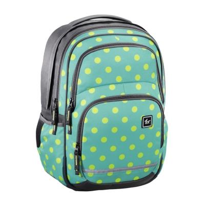 Plecak szkolny BLABY kolor: Mint Dots
