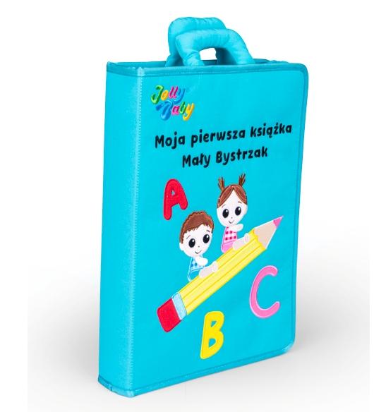 Jollybaby, Moja pierwsza książka - Mały Bystrzak (80472)
