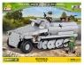 Cobi: Mała Armia WWII. Sd.Kfz.251/9 Ausf.C Stummel - niemiecki transporter opancerzony (2472A)