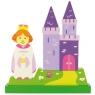 Magnetyczne puzzle księżniczka