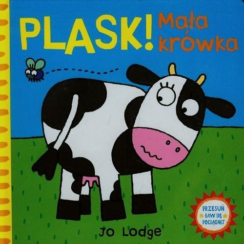 PLASK Mała krówka Przesuń baw się pociągnij Lodge Jo