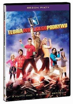 Teoria wielkiego podrywu (sezon 5, 3 DVD)