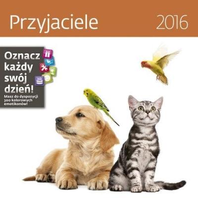 Przyjaciele. Kalendarz ścienny 2016 praca zbiorowa