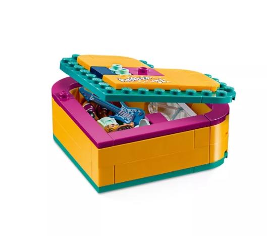 Lego Friends: Pudełko w kształcie serca Andrei (41354)