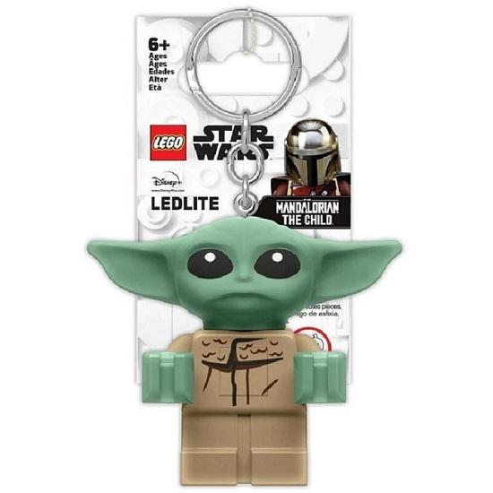 LEGO, Brelok do kluczy z latarką - Star Wars Baby Yoda (LGL-KE179)