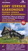 Góry Izerskie Karkonosze Pogórze Izerskie Kotlina Jeleniogórska mapa turystyczna 1:50 000