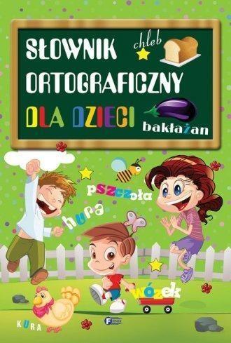 Słownik ortograficzny dla dzieci (Uszkodzona okładka)