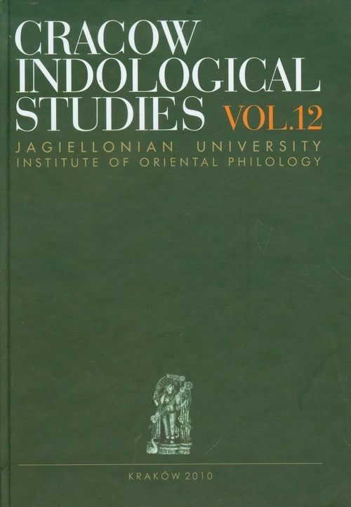 Cracow Indological Studies vol.12 Marlewicz Halina