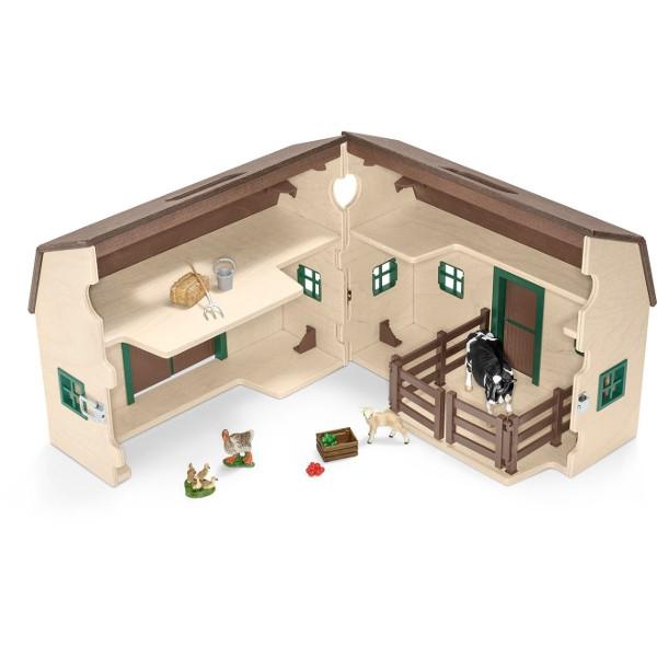 Przenośna stodoła, biała (42272)