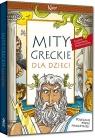 Mity greckie dla dzieci kolorowe ilustracje, kreda, duża czcionka Lucyna Szary